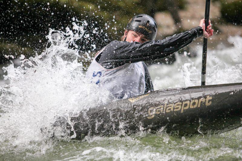 Photographie de sport, Kayak, Goumois dans le canton du Jura en suisse