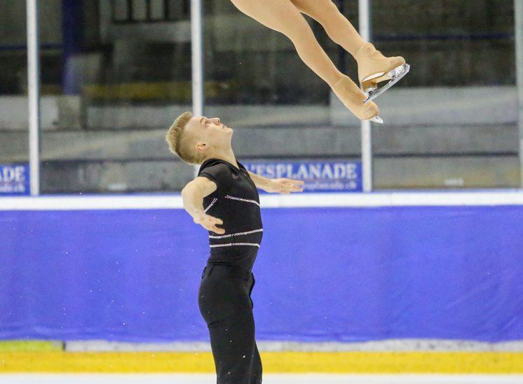 Photographe de sports Championnat suisse patinage artistique, 2013
