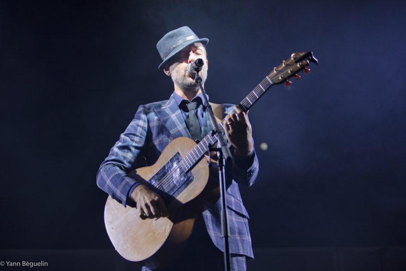 Charlie Winston lors du festival Le Chant du Gros en 2019 en Suisse Switzerland