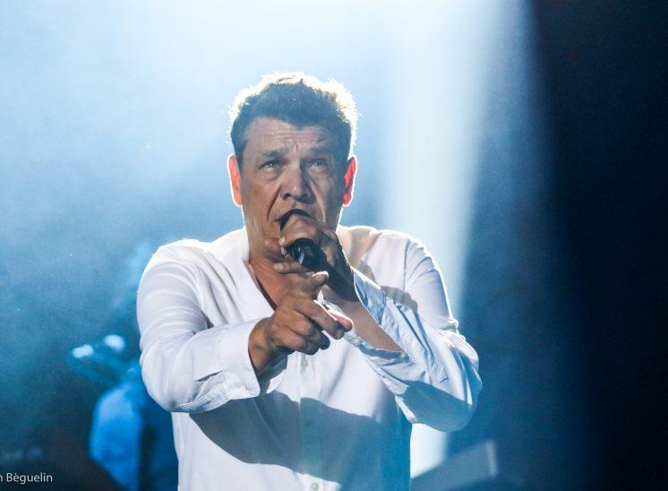 Marc Lavoine lors du festival Le Chant du Gros en 2019 en Suisse