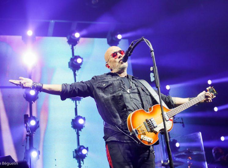 Pascal Obispo lors du festival Le Chant du Gros en 2019 en Suisse