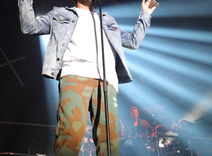 Amir lors du festival Le Chant du Gros en 2019 dans le canton du Jura en Suisse