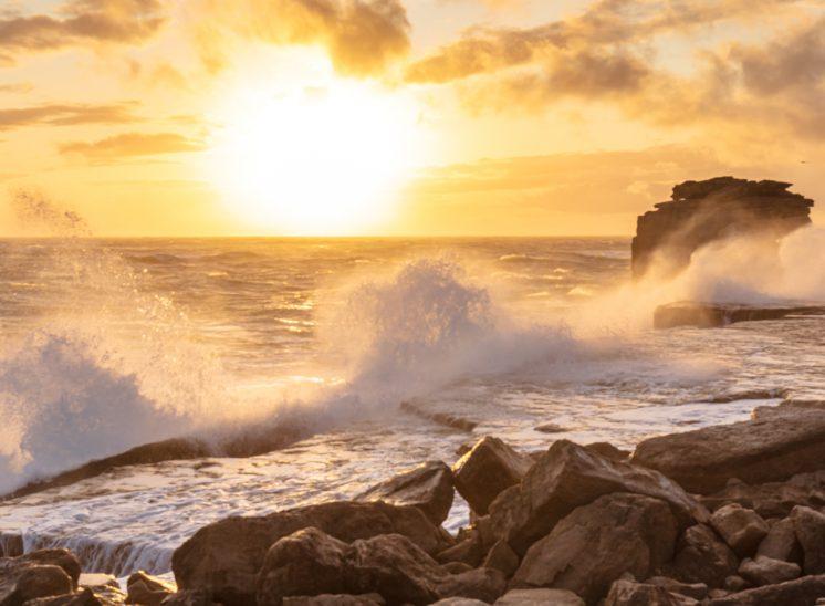 Photographie de paysage prise dans la région du Dorset au Royaume-Uni en 2019, United Kingdom 2019