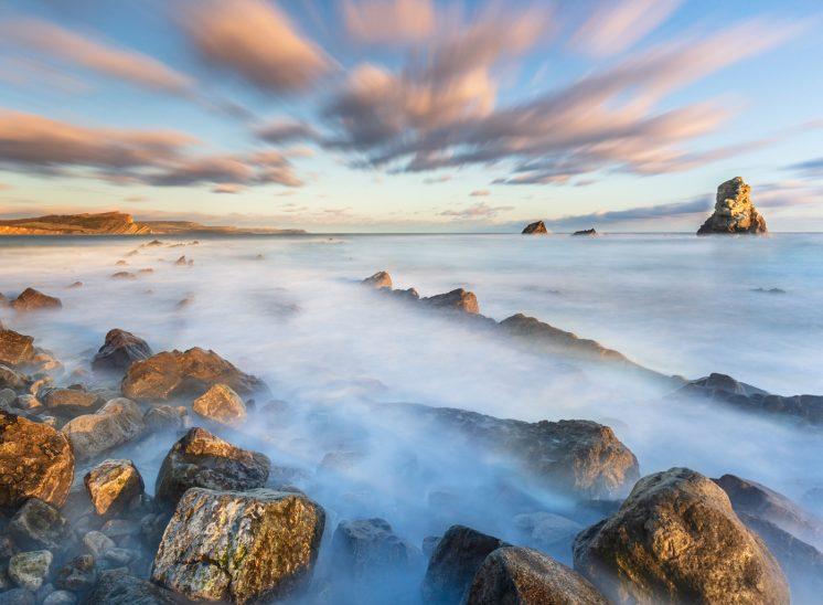 Photographie de paysage prise dans la région du Dorset au Royaume-Uni en 2019, United Kingdom 2019Landscapes photographer Switzerland