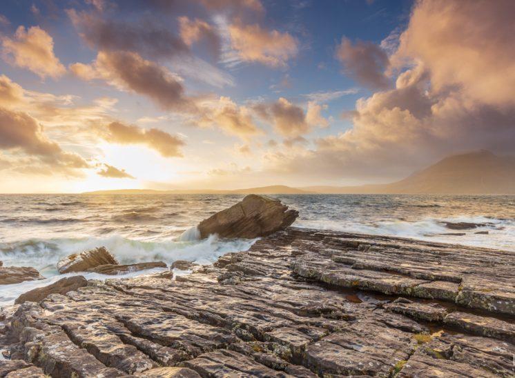 Photographie de paysages, île de Skye à Elgol, Royaume-Uni, 2017
