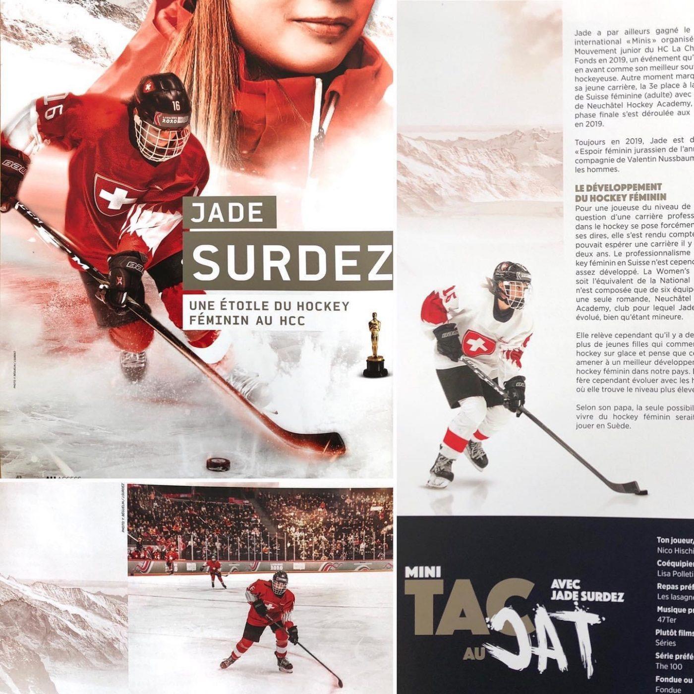 Publication magazine All Access La Chaux-de-Fonds