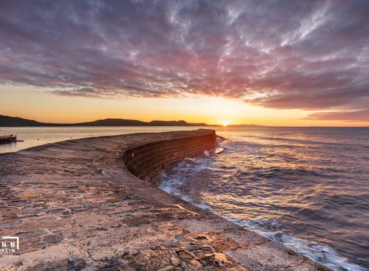 Photographie de paysage prise dans la région du Dorset à Lyme Regis au Royaume-Uni en 2019, United Kingdom landscapes photographer Switzerland photographe de paysages suisse