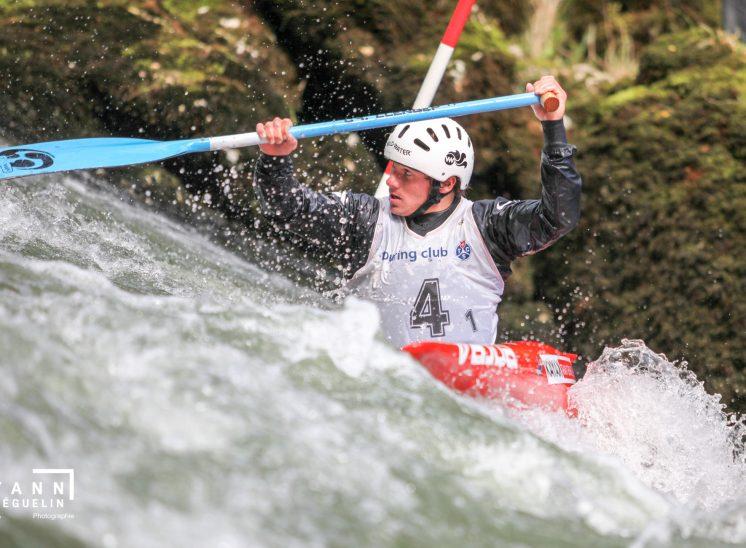 Kayak, Goumois, 2012