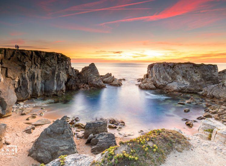 Photographie de paysage prise à Quiberon en France en 2019